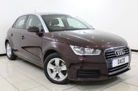 USED 2015 65 AUDI A1 1.6 SPORTBACK TDI SE 5DR 114 BHP AUDI SERVICE HISTORY + PARKING SENSOR + CRUISE CONTROL + AIR CONDITIONING + RADIO/CD/AUX + 15 INCH ALLOY WHEELS
