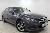 USED 2015 65 MERCEDES-BENZ E CLASS 2.1 E220 BLUETEC SE 4DR AUTOMATIC 174 BHP FULL SERVICE HISTORY + HEATED LEATHER SEATS + SAT NAVIGATION + BLUETOOTH + PARKING SENSOR + CRUISE CONTROL + MULTI FUNCTION WHEEL + CLIMATE CONTROL + 17 INCH ALLOY WHEELS