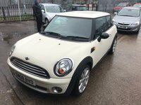 2008 MINI HATCH ONE 1.4 ONE 3d 94 BHP £3999.00