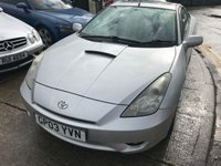 USED 2003 03 TOYOTA CELICA 1.8 VVT-I 3d 140 BHP