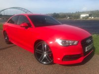 USED 2014 14 AUDI A3 2.0 TDI S LINE 4d 148 BHP **STUNNING SPECIFICATION**
