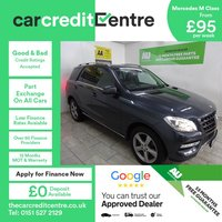 USED 2014 64 MERCEDES-BENZ M CLASS 2.1 ML250 BLUETEC SE EXECUTIVE 5d AUTO 204 BHP