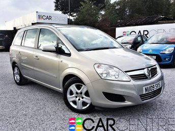 View our 2009 09 VAUXHALL ZAFIRA 1.9 EXCLUSIV CDTI 5d AUTO 118 BHP