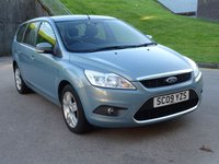 USED 2009 09 FORD FOCUS 1.6 STYLE 5d 100 BHP AUTO + REVERSE CAMERA + 57000 MILES FROM NEW  + AUX CONNECTION