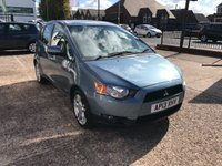 USED 2013 13 MITSUBISHI COLT 1.3 CZ2 5d 95 BHP FULL SERVICE HISTORY-PETROL-1 FORMER KEEPER-5 DOOR-LOW MILEAGE