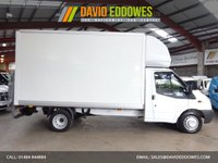 "USED 2011 61 FORD TRANSIT 2.4 350 DRW 115 BHP EF LWB TAIL LIFT LUTON VAN - ONE OWNER -SERVICE HISTORY ""YOU'RE IN SAFE HANDS"" - AA DEALER PROMISE"