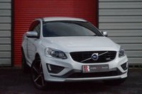 USED 2015 15 VOLVO XC60 2.4 D5 R-DESIGN LUX NAV AWD 5d AUTO 212 BHP Full Leather and Sat Nav