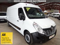"""USED 2015 65 RENAULT MASTER 2.3 LM35 BUSINESS ENERGY DCI S/R P/V 135 BHP-ONE OWNER * VERY LOW MILEAGE* """"YOU'RE IN SAFE HANDS"""" - AA DEALER PROMISE"""