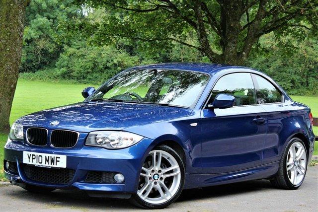 2010 10 BMW 1 SERIES 2.0 120D M SPORT 2d 175 BHP