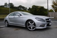 USED 2014 64 MERCEDES-BENZ CLS CLASS 2.1 CLS250 CDI BLUEEFFICIENCY AMG SPORT 4d AUTO 204 BHP COMAND NAVIGATION - LEATHER HEATED