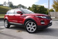 USED 2012 62 LAND ROVER RANGE ROVER EVOQUE 2.2 PURE ED4 PAN ROOF PANORAMIC GLASS ROOF