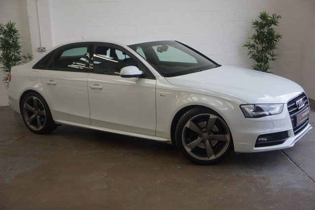 2014 14 AUDI A4 2.0 TDI S LINE BLACK EDITION 4d 174 BHP SAT NAV SOLD TO REBECCA FROM CHESTERFIELD