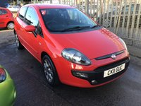 USED 2011 11 FIAT PUNTO EVO 1.4 GP 3d 77 BHP Low insurance, economical, bright red, great value, superb.
