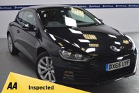 USED 2015 65 VOLKSWAGEN SCIROCCO 2.0 TDI BLUEMOTION TECHNOLOGY 2d 150 BHP (ONE OWNER)