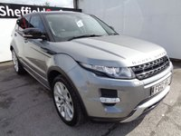 USED 2012 12 LAND ROVER RANGE ROVER EVOQUE 2.2 SD4 DYNAMIC LUX 5d AUTO 190 BHP 5 SERVICE STAMPS LAST DONE AT 72,000 MILES LEATHER TRIM SAT NAV PANORAMIC ROOF 20 INC ALLOYS