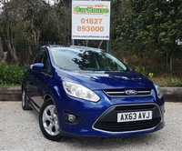 USED 2014 63 FORD GRAND C-MAX 2.0 ZETEC TDCI 5dr AUTO 7 Seats, Air Con, PDC,