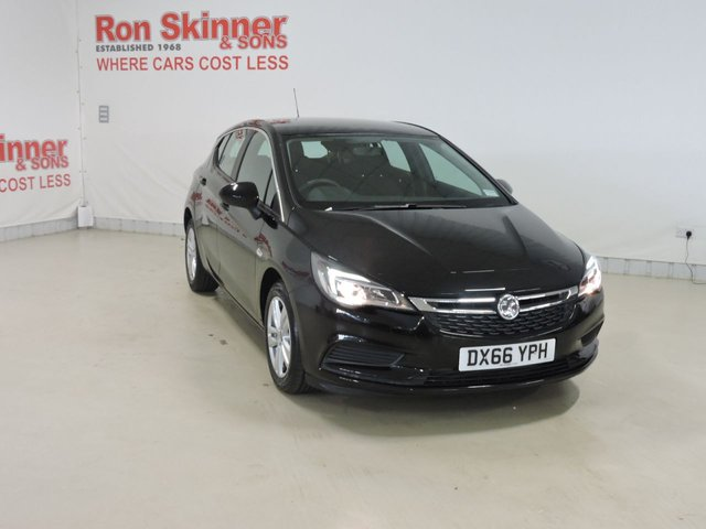 View our 2016 66 VAUXHALL ASTRA 1.6 DESIGN CDTI 5d 108 BHP