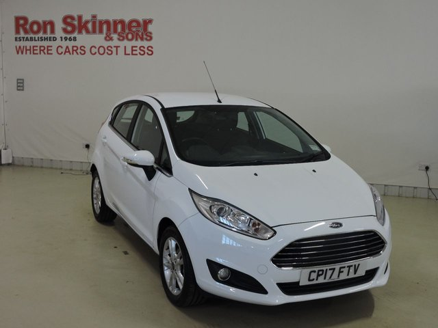 View our 2017 17 FORD FIESTA 1.0 ZETEC 5d 99 BHP