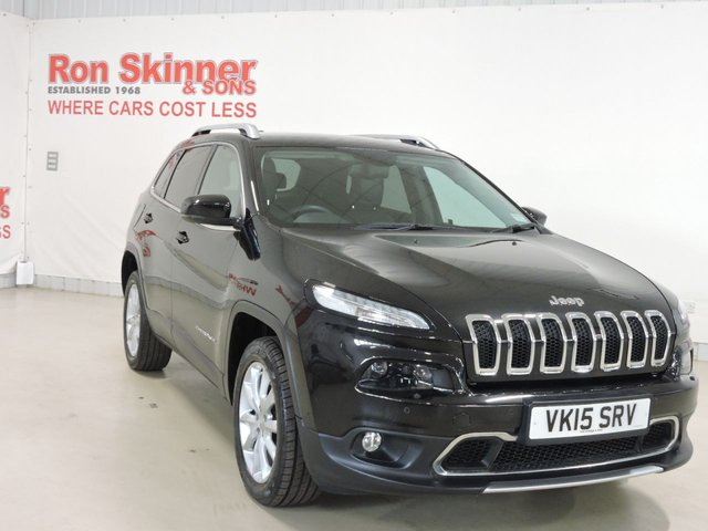 View our 2015 15 JEEP CHEROKEE 2.0 M-JET LIMITED 5d 138 BHP