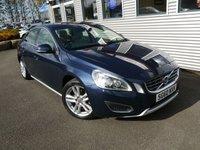2010 VOLVO S60 2.0 D3 SE LUX 4d AUTO 161 BHP £8680.00