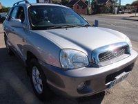 2006 HYUNDAI SANTA FE 2.0 CDX CRTD 5d 112 BHP £2495.00