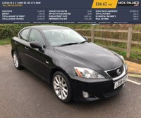 USED 2008 58 LEXUS IS 2.2 220D SE 4d 175 BHP FULL SERVICE HISTORY