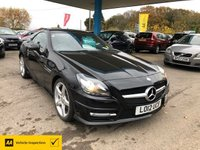 USED 2012 12 MERCEDES-BENZ SLK 1.8 SLK250 BLUEEFFICIENCY AMG SPORT 2d 204 BHP NEED FINANCE? WE CAN HELP!