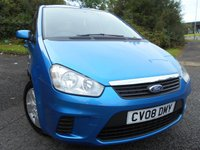 2008 FORD C-MAX 1.6 STYLE 5d 100 BHP **YES  ONLY 47,265 MILES , OUTSTANDING EXAMPLE ** £3495.00