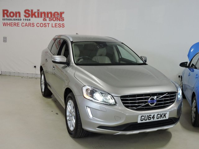 View our 2014 64 VOLVO XC60 2.0 D4 SE LUX 5d 178 BHP