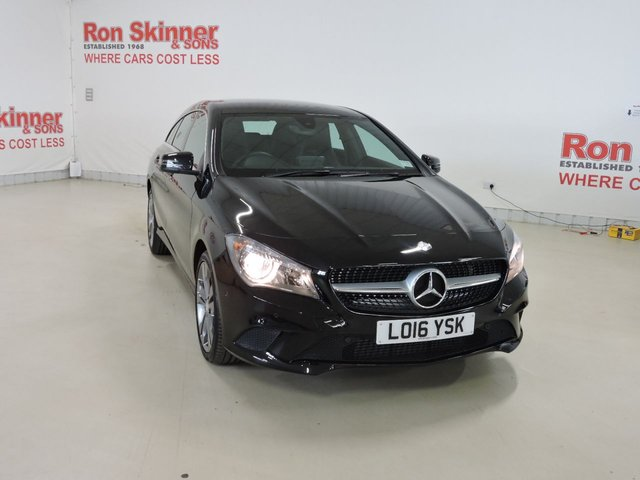 View our 2016 16 MERCEDES-BENZ CLA 2.1 CLA 200 D SPORT 5d AUTO 134 BHP