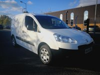 USED 2014 14 PEUGEOT PARTNER 1.6 HDI PROFESSIONAL L1 625 1d 74 BHP 1 OWNER - DIRECT LEASE COMPANY - AIR CONDITIONING - 3 SEAT CAB