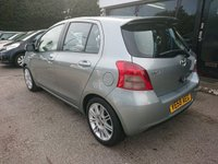 USED 2009 58 TOYOTA YARIS 1.3 SR 5d 86 BHP 1 OWNER FROM NEW, LOW MILEAGE, 12 MONTH MOT
