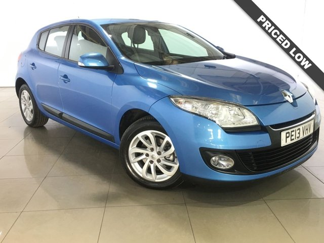 View our 2013 13 RENAULT MEGANE 1.6 EXPRESSION PLUS 5d 110 BHP