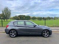 2012 BMW 1 SERIES 2.0 116D SPORT 5d 114 BHP £8695.00