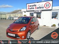 USED 2012 62 TOYOTA AYGO 1.0 VVT-I FIRE AC 67 BHP GOOD AND BAD CREDIT SPECIALISTS! APPLY TODAY!