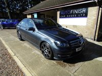 2014 MERCEDES-BENZ C-CLASS 2.1 C250 CDI BLUEEFFICIENCY AMG SPORT PLUS 4d AUTO 202 BHP £11995.00
