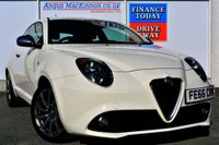 USED 2016 66 ALFA ROMEO MITO 0.9 TWINAIR SUPER 3d Petrol Hatchback with Zero Road Tax and High 67mpg Stunning in White ONE OWNER FROM NEW