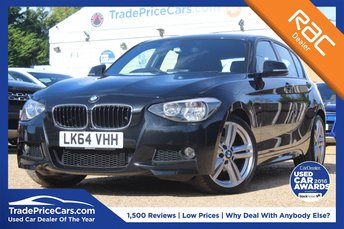 2014 BMW 1 SERIES 2.0 116D M SPORT 5d AUTO 114 BHP £14950.00