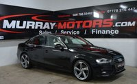 2014 AUDI A4 2.0 TDI SE TECHNIK 4DOOR 134 BHP MYTHOS BLACK £12150.00