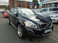 USED 2011 60 VOLVO XC60 2.0 D3 DRIVE R-DESIGN 5d 161 BHP FULL LEATHER, DAB RADIO