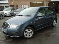 2005 SKODA FABIA 1.4 ELEGANCE 16V 5d AUTO 74 BHP £1495.00