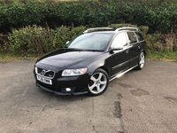USED 2012 61 VOLVO V50 1.6 D2 R-DESIGN EDITION 5d 113 BHP
