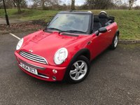 2004 MINI CONVERTIBLE 1.6 ONE 2d 89 BHP £2500.00