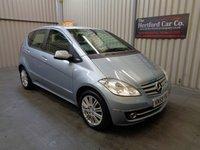 2009 MERCEDES-BENZ A CLASS 1.5 A160 ELEGANCE SE 5d AUTO 95 BHP £4495.00