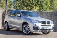 2015 BMW X3 2.0 XDRIVE20D M SPORT 5d AUTO 188 BHP £19250.00