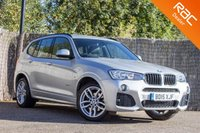 USED 2015 15 BMW X3 2.0 XDRIVE20D M SPORT 5d AUTO 188 BHP £0 DEPOSIT BUY NOW PAY LATER - 1 OWNER - FULL BMW S/H - PRO NAV