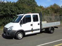 2012 IVECO-FORD DAILY 35C13D 2.3JTD 126 BHP CREW CAB TIPPER (TWIN WHEEL) £7750.00