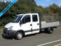 USED 2012 12 IVECO-FORD DAILY 35C13D 2.3JTD 126 BHP CREW CAB TIPPER (TWIN WHEEL) +ONLY 61K+ TIPPER+2 OWNERS+
