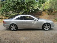 USED 2002 02 MERCEDES-BENZ CL 5.4 CL55 AMG 2d AUTO 360 BHP LOVELY MERCEDES CL 55 AMG FACTORY   ORDER THESE PRESTIGE COUPES ARE BECOMING VERY RARE NOW ESPECIALLY WITH THIS SPEC AND MILEAGE NEW MOT AND SERVICE JUST CARRIED OUT  DRIVES BEAUTIFULLY WITH HUGE SPEC WITH VIRTUALLY  EVERY  OPTION TICKED WHEN ORDERED FROM NEW