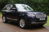 2014 LAND ROVER RANGE ROVER 4.4 SDV8 VOGUE 5d AUTO 339 BHP £40000.00